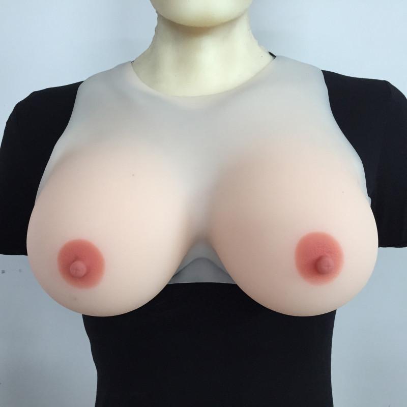 Realistic breast silicone boob